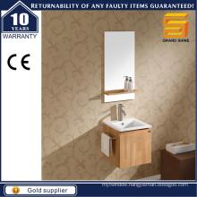 Modern Simple Design Melamine Plywood Apartment Bathroom Cabinet Unit