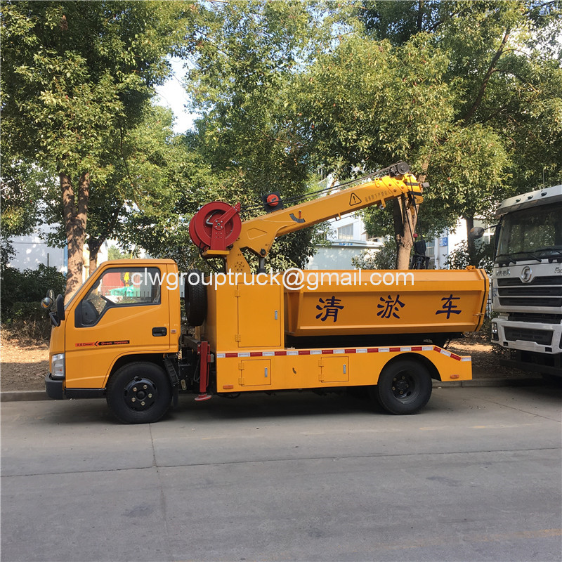 Gully Cleaning Truck4