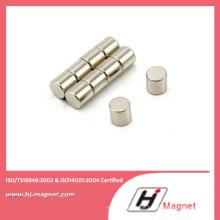 Qualitativ hochwertige NdFeB Scheibe Permanent-Magnet mit N35-N52 Grade am Motor