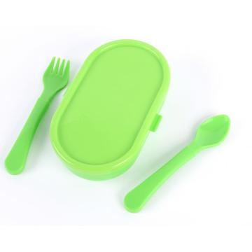 3PCS Baby Feeding Bowl with Spoon and Fork
