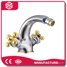 hot cold water copper traditional bathroom faucet