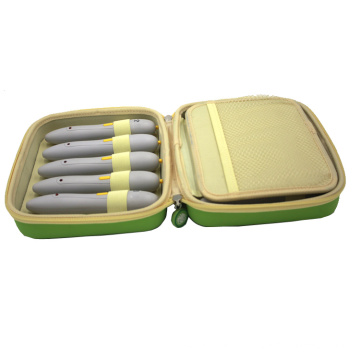 Factory supply PU leather pencil box for children
