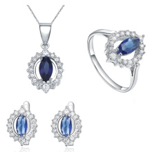 Atacado 925 Sterling Silver Jewellery Jewelry Set