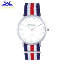 best gift classic color colorful canvas strap watch minimalist wristwatch gift