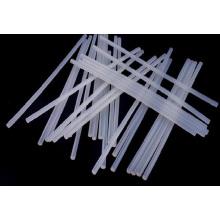Hastes de borracha de silicone transparente extrudado macio / sólido