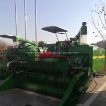 Combustible eficiente cosechadora de arroz multifunción con sombrilla