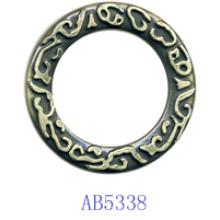 Zink-Legierungs-Kreis für Kleidungs-Ab5338