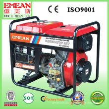 Gerador diesel aberto do baixo preço 5kw portátil