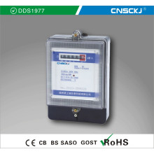 Dds1977 Monofásico de alta qualidade medidor eletrônico de energia