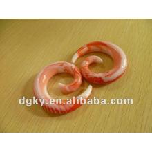 Atacado espiral espiral Taper UV Acrílico Fake Expander