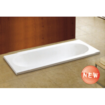 Cupc High Quality Simple Drop-in Bathtub (WTM-02818)