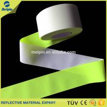 Raya de tela reflectante de alta visibilidad para la ropa
