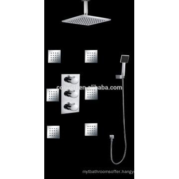 Cobuild Manufacturer In-wall Concealed Bath Shower Faucet Set