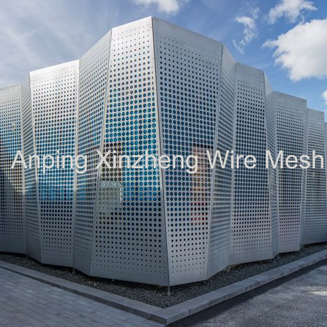 Perforated Facade Mesh