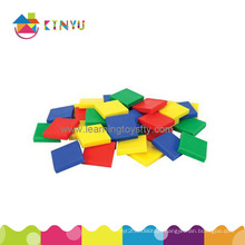 Plastic Inch Color Tiles (K011)