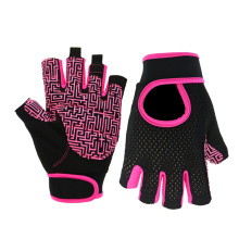 Peralatan Separuh Finger Fitness Dumbbells Gloves