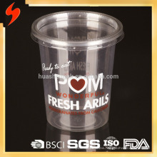 8oz Food Grade Transparent PET Disposable Cup