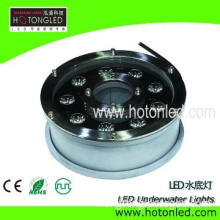 good design waterproof IP68 9w housing led light, pool light