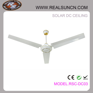 "Good Quality 48"" or 56"" Solar DC Rechargeable Ceiling Fan"