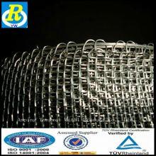 Ein ping galvanisiertes quadratisches Netz
