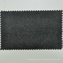 Venta caliente hecho a medida de espiga de color verde oliva a medida del servicio 430 g / m 100% merino superfino tejido de lana
