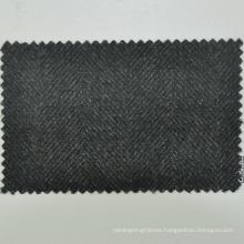 Hot sale made to measure bespoke service olive green herringbone 430g/m 100% merino superfine wool fabric