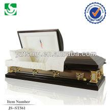 JS-ST561 American Style 18 Gage steel casket