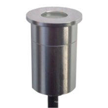 1W cor branca IP68 impermeável alumínio 12V luz da plataforma LED