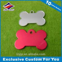 Custom desgin joli prix bon marché nouvelle étiquette de chien colorée