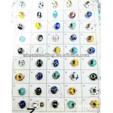 Talão tesouros esferas de vidro com cores misturadas LS-136