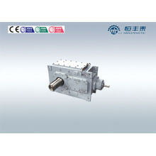 Mechanical Transmission Helical Bevel Gear Reducer , Shaft Mounted Speed Reducer