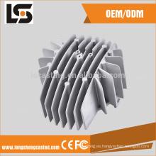LED carcasa de la lámpara y cortinas en luminarie industria