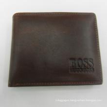 Prestige stylish genuine real leather men business letter wallet