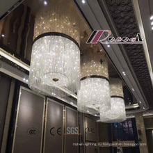Современные специально отель декоративные большие Хрустальные люстры с новый стиль