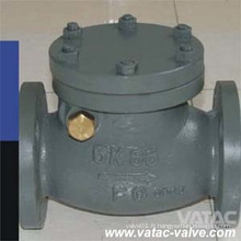 Clapet anti-retour marin standard en acier moulé Wcb / Lcb / Wc6 de JIS 10k