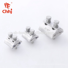 Copper-Aluminum / Aluminum Parallel Groove Clamp for electric power accessories