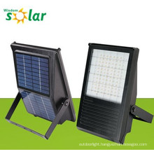 All-in-one CE solar LED flood lamp with solar panel for outdoor solar lighting