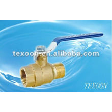 Full bore threaded brass ball valves(female thread*male thread) Manual