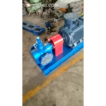 YCB commercial hydraulic mobile oil suction gear pumps