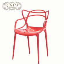 Popular colorful outdoor stackable leisure plastic chair