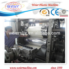 PVC plastic edge band extrusion machinery for furniture