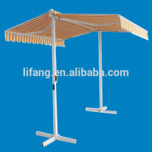 Double sided retractable car awning ---042