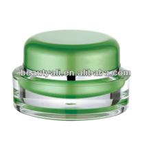 15g Oval PMMA cosméticos jarra