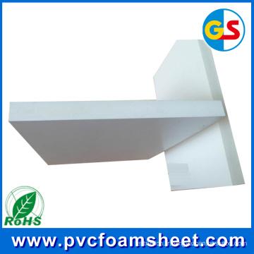 Usine de feuille de construction de PVC Celuka de construction (épaisseur chaude: 18mm 16mm 12mm 15mm 9mm)
