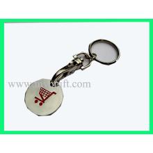 Цепь монеты для тележки, Монета с металлической тележкой (E-TC017)