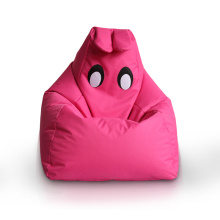 Cute bunny shaped kids sofa bean bag