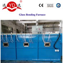 Machine chaude de four de traitement de recourbement de table en verre / bureau
