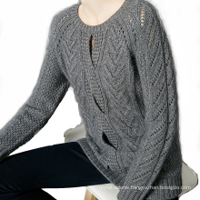 simple women cashmere pullover
