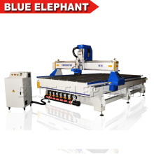 Vacuum & T-slot PVC table wood carving cnc router for sale