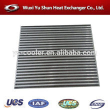 high performance aluminum customized aftercooler core manufacturer